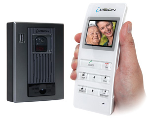 Intercom video sans fil iVision Optex Securiteck